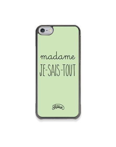 "Coque ""Madame jst"""