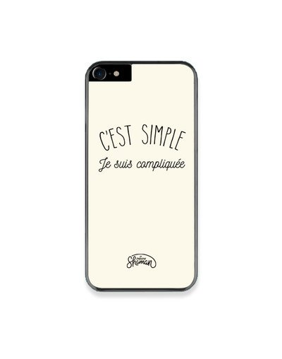 "Coque ""Simple compliquée"""