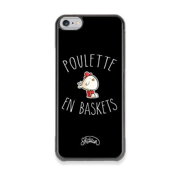 """Coque """"Poulette en basket"""""""