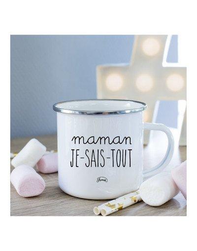 Mug Maman je sais tout