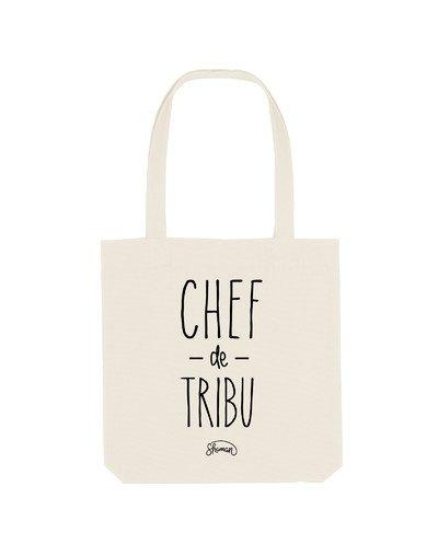 """Tote Bag """"Chef de tribu"""""""