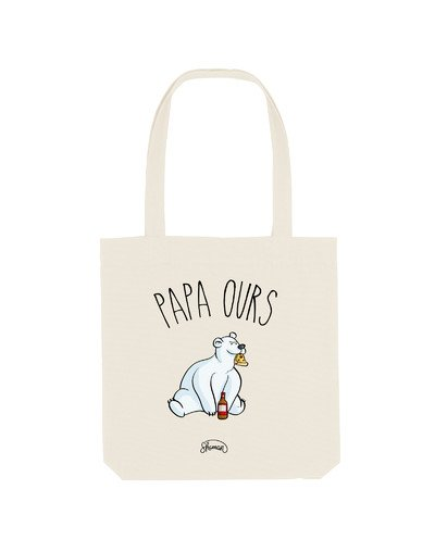 """Tote Bag """"papa ours"""""""