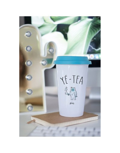 "Mugs Take Away ""Yé-tea"""