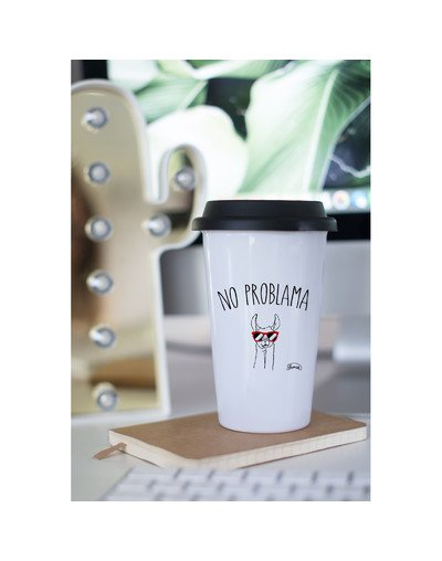 "Mugs Take Away ""No problama"""