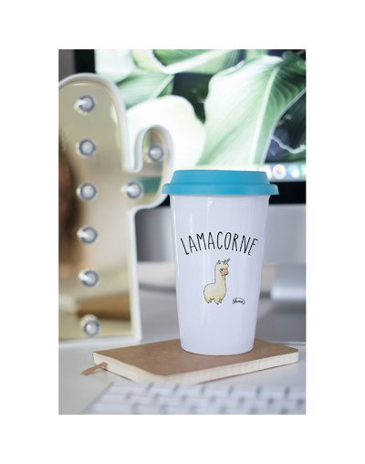 "Mugs Take Away ""Lamacorne"""