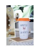 """Mugs Take Away """"Princesse en baskets"""""""