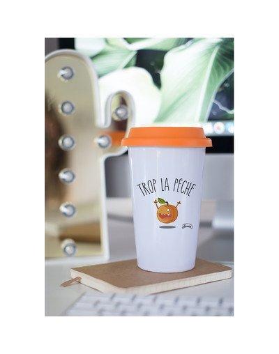 """Mugs Take Away """"Trop la pêche"""""""