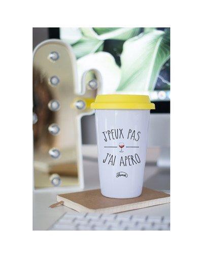 "Mugs Take Away ""J'peux pas apéro"""