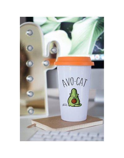 """Mugs Take Away """"Avo-cat"""""""