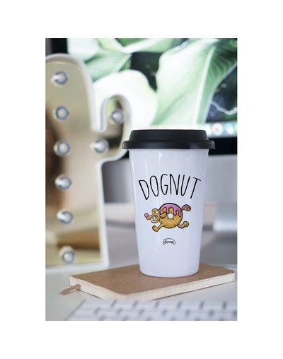 """Mugs Take Away """"Dognut"""""""