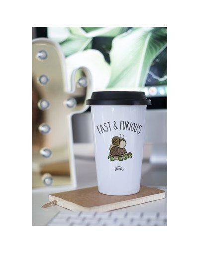 """Mugs Take Away """"Fast escargot"""""""
