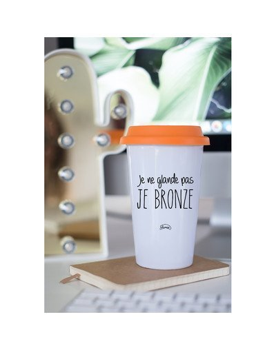 "Mugs Take Away ""Je ne glande pas"""