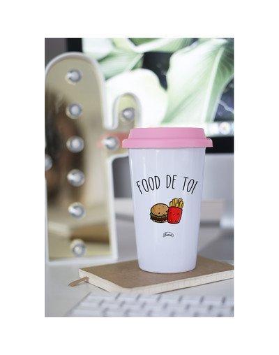 """Mugs Take Away """"Food de toi"""""""
