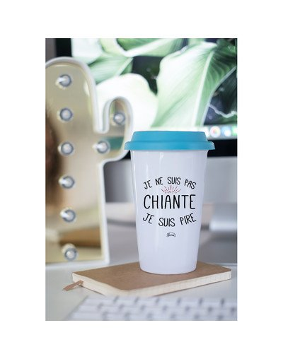 "Mugs Take Away ""Pas chiante"""