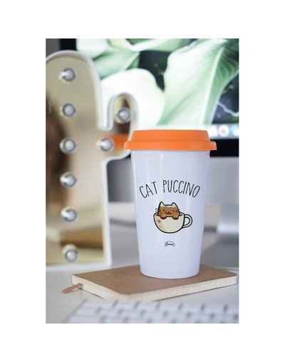 "Mugs Take Away ""Cat puccino"""