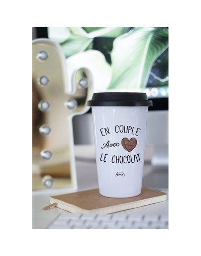 """Mugs Take Away """"Couple chocolat"""""""