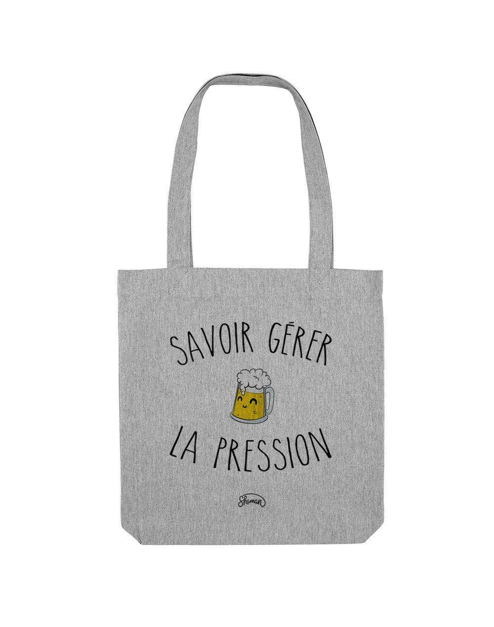 """Tote Bag """"La pression"""""""