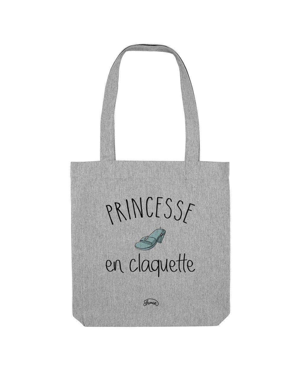 """Tote Bag """"Princesse claquette"""""""