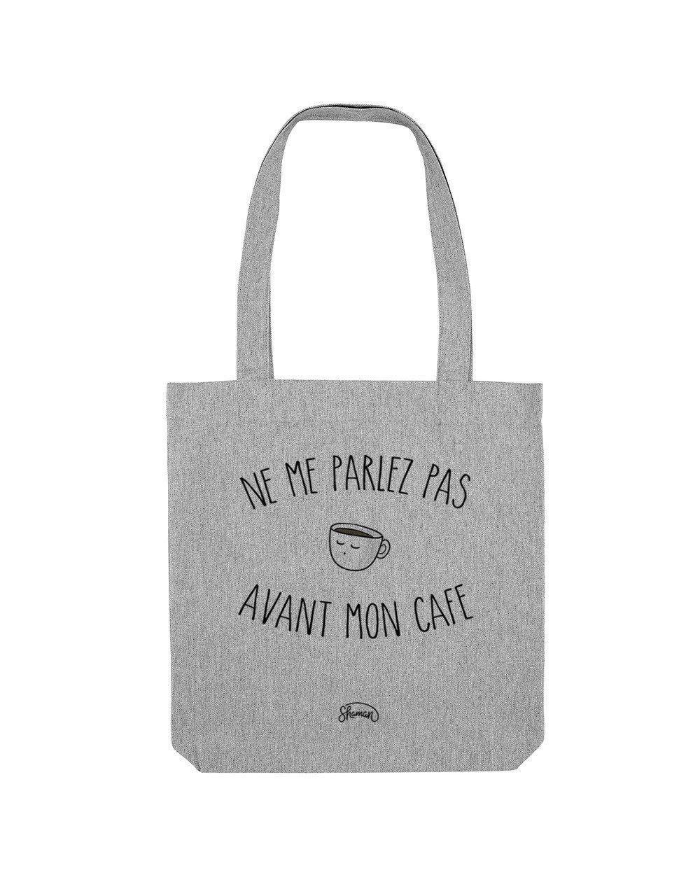 """Tote Bag """"Me parlez pas"""""""