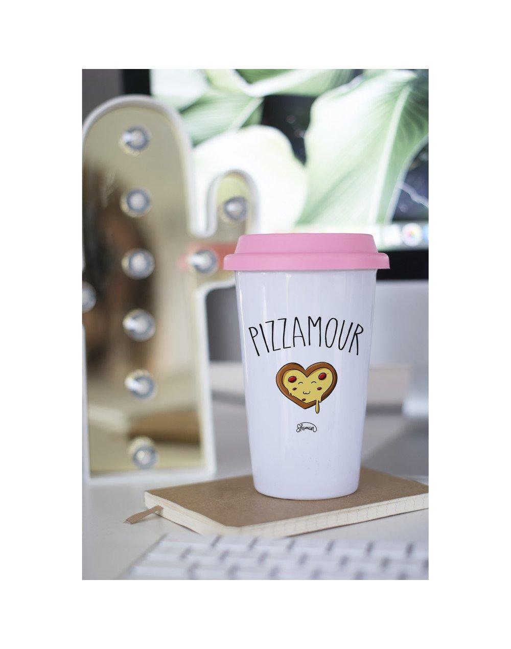 "Mugs Take Away ""Pizzamour"""
