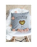 """Coussin """"Pizzamour"""""""
