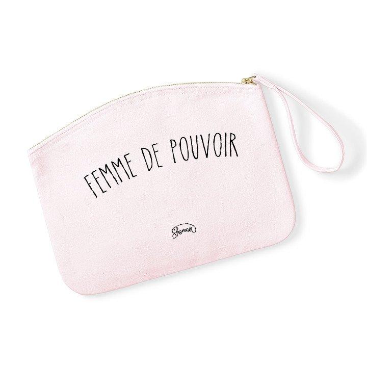 "Pochette ""Femme pouvoir"""