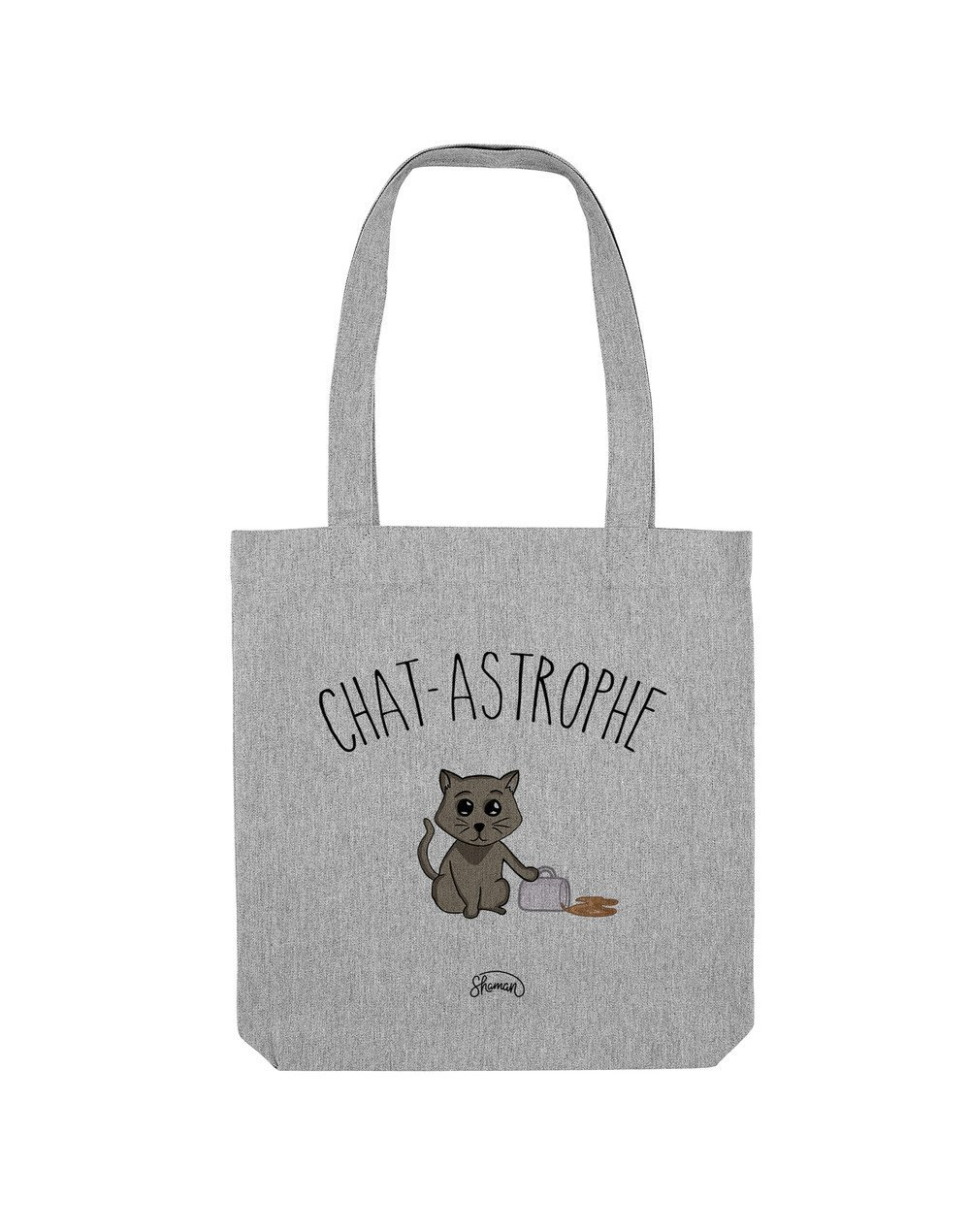 "Tote Bag ""Chat-astrophe"""
