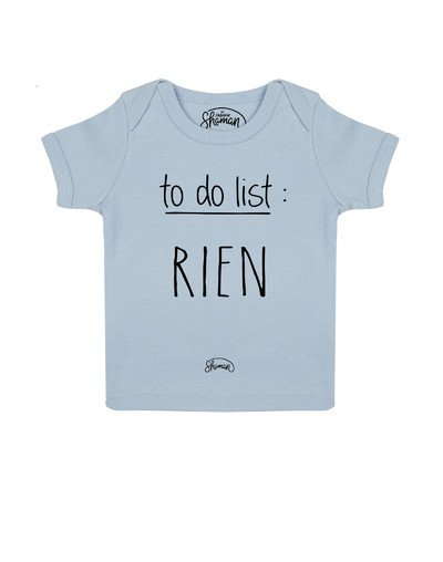 Tee shirt To do list