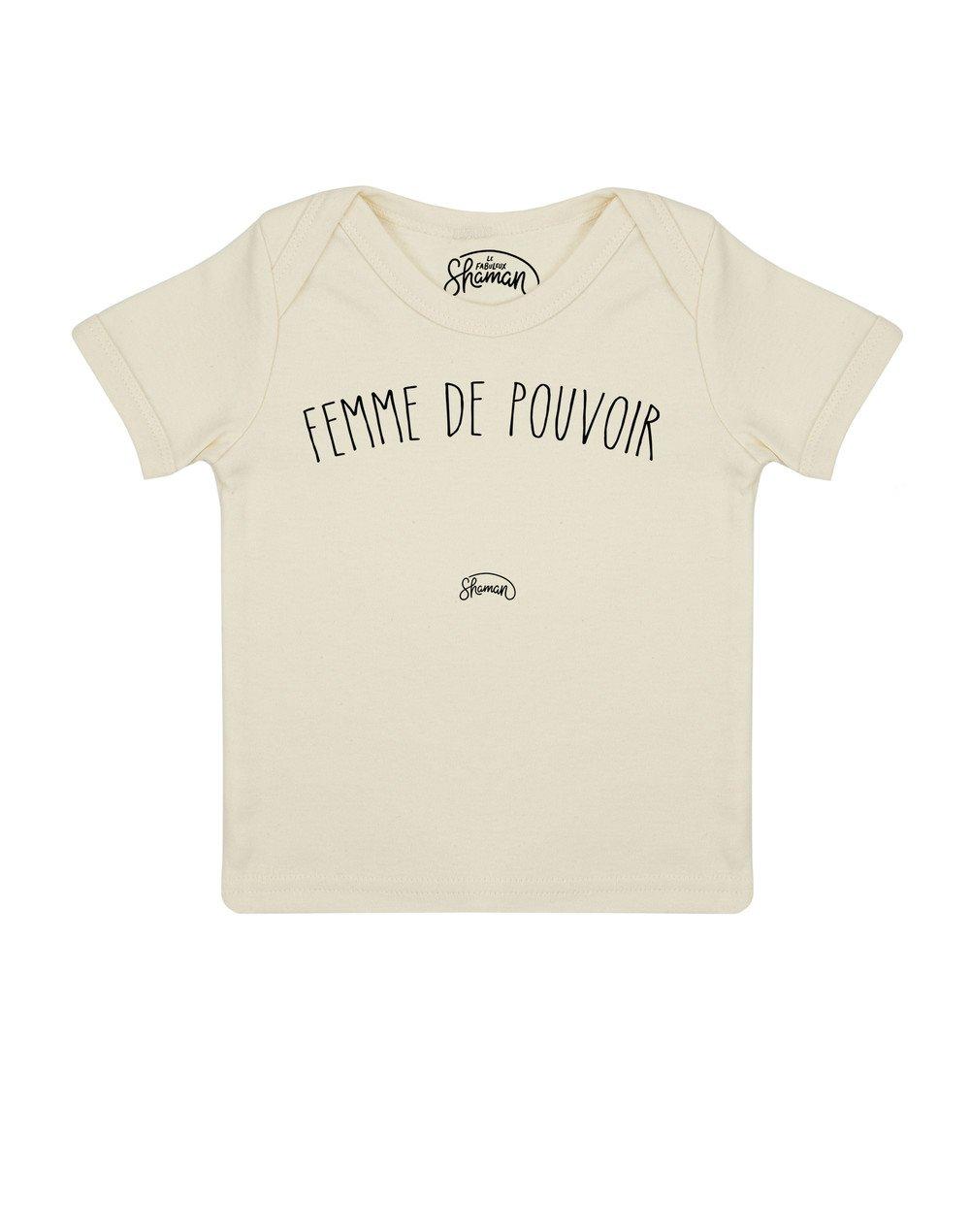 Tee shirt Femme pouvoir