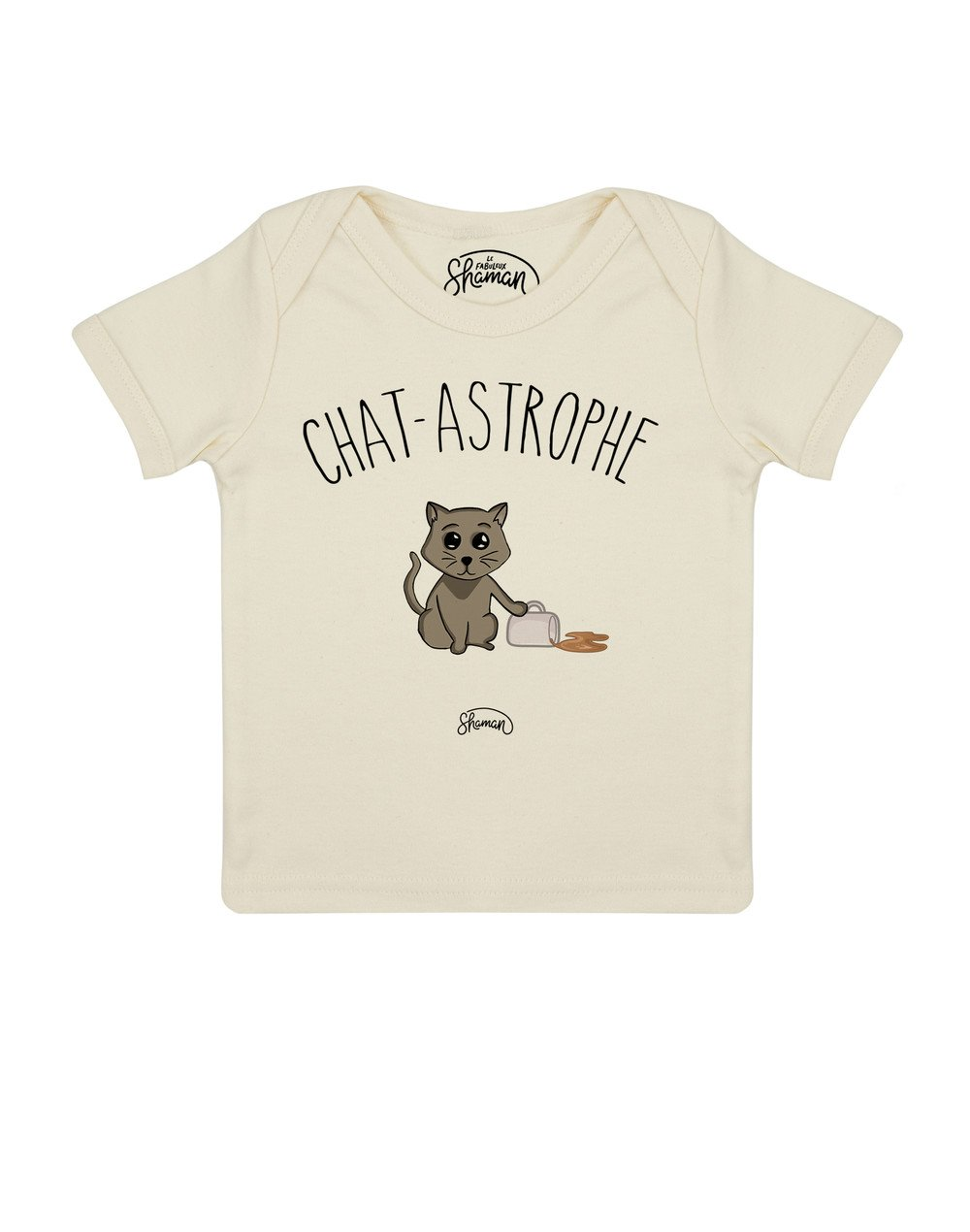 Tee shirt Chat-astrophe