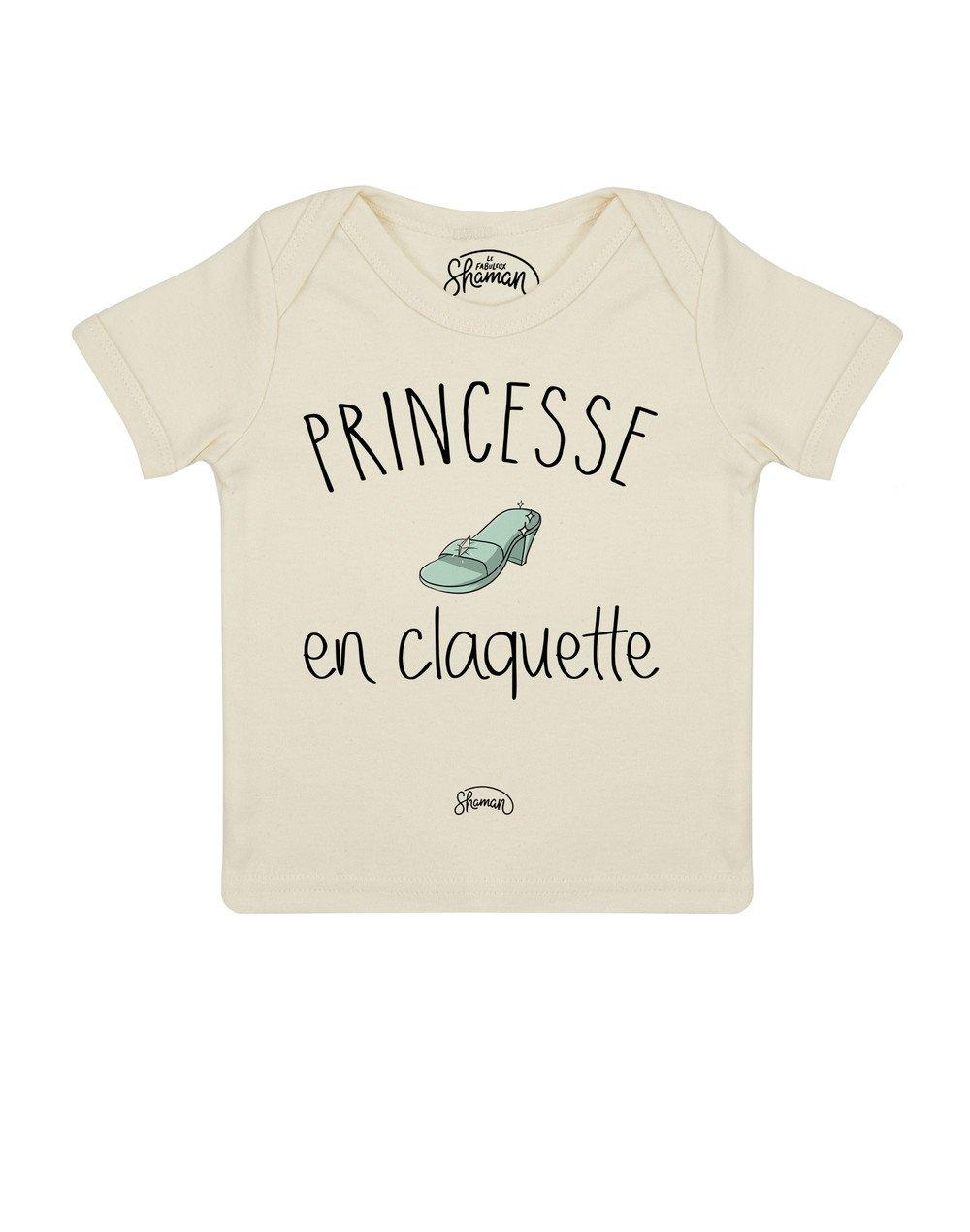 Tee shirt Princesse claquette