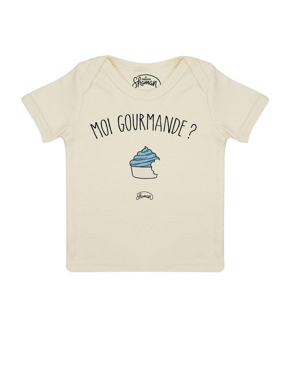 Tee shirt Moi gourmande