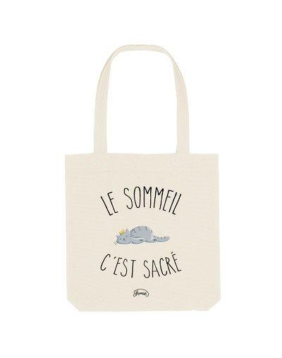 """Tote Bag """"Sommeil sacré"""""""