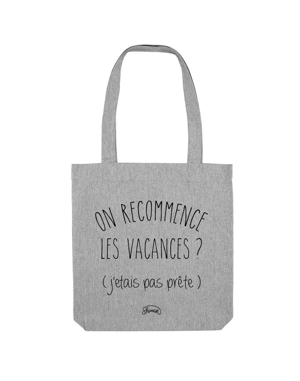 """Tote Bag """"On recommence"""""""