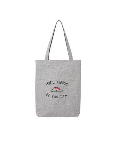 "Tote Bag ""Vers le vendredi"""