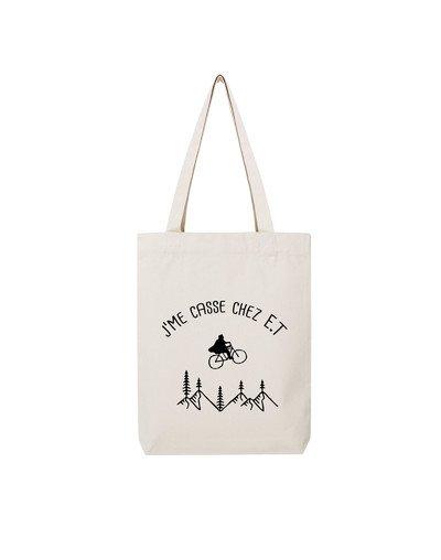 "Tote Bag ""J'me casse"""