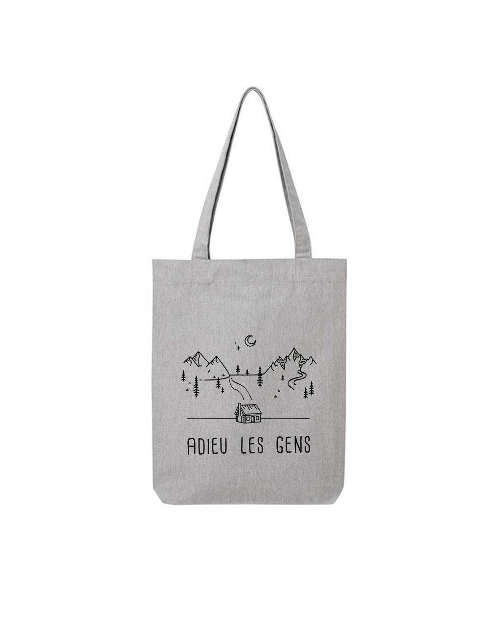 """Tote Bag """"Adieu les gens"""""""