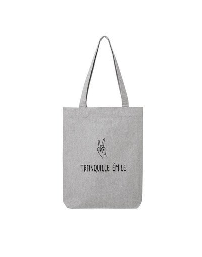 "Tote Bag ""Tranquille Emile"""