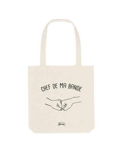"Tote Bag ""Chef de ma bande"""