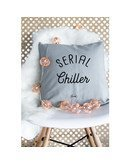 """Coussin """"Serial chiller"""""""