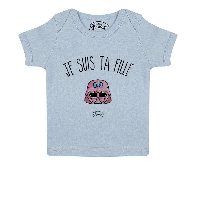 Tee shirt Je suis ta fille