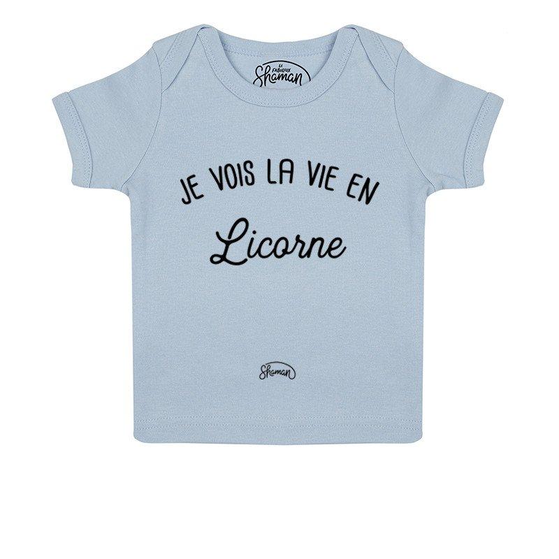 Tee shirt La vie en licorne