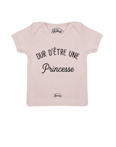Tee shirt Être une princesse