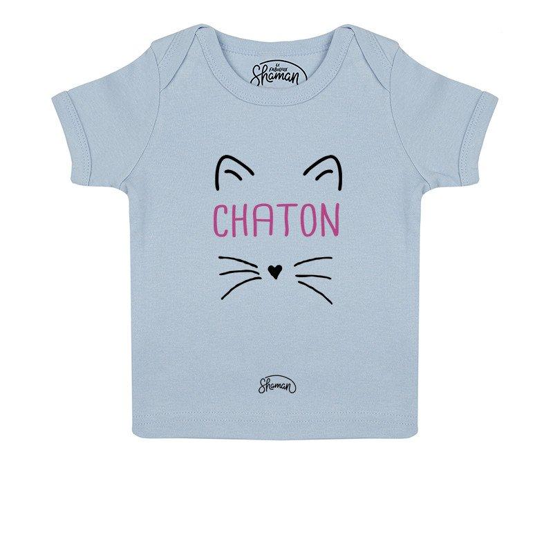 Tee shirt Chaton