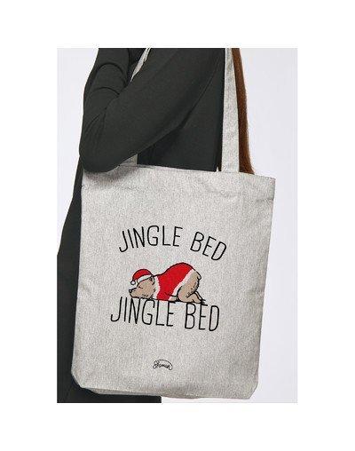 "Tote Bag ""Jingle bed"""