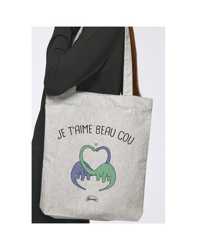 """Tote Bag """"Beau cou"""""""
