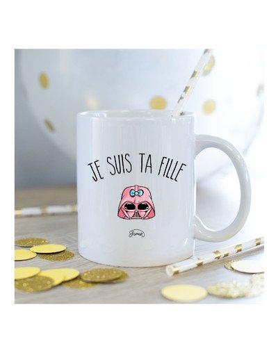 Mug Je suis ta fille