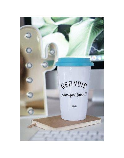 """Mugs TA """"Grandir pour quoi"""""""