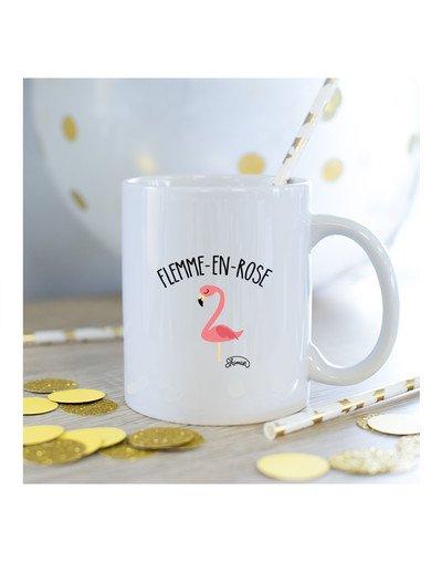 Mug flemme en rose