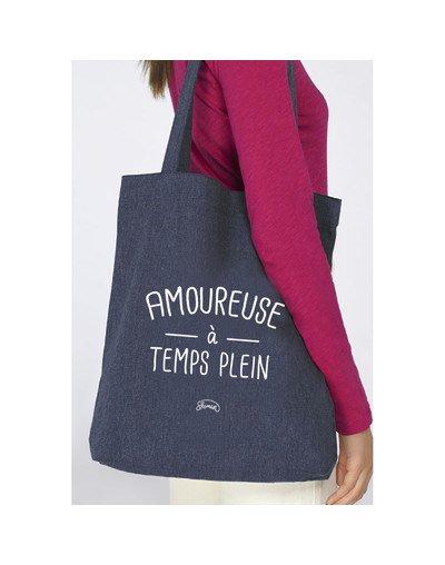 """Tote Bag """"Amoureuse à temps plein"""""""